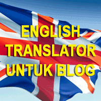 Membuat English Translator Untuk Blog