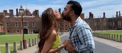 शिल्पा शेठ्ठी और राज कुंद्रा का किसिंग वाली विडियो हुआ वायरल, हैरान रह गए सेलेबस