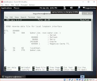 Konfigurasi Web Server Debian, Web Server