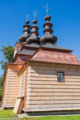 Cerkiew św. Michała Archanioła od strony prezbiterium