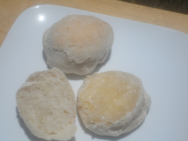 Breadmachine Dough Cycle Dinner Rolls