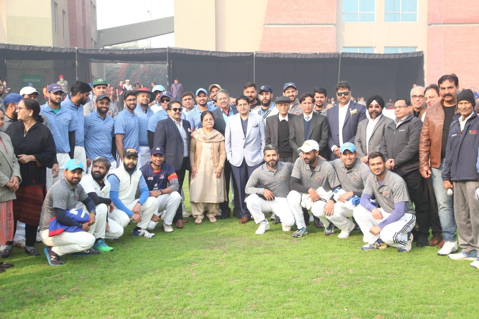 क्रिकेट : 12वें मानव रचना कॉर्पोरेट क्रिकेट चैलेंज का आगाज