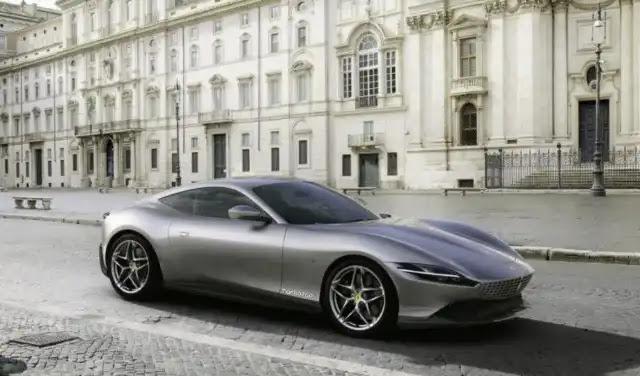 فيراري روما الجديدة 2020 تصميم رياضي بسحر ايطالي 620 حصان