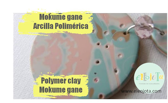 tutorial mokume gane arcilla polimerica