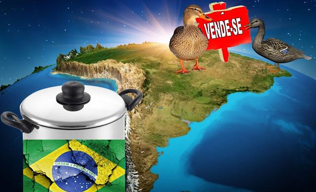 ALUGA-SE O BRASIL, VENDE-SE A NAÇÃO - Coluna do Andre Benitez
