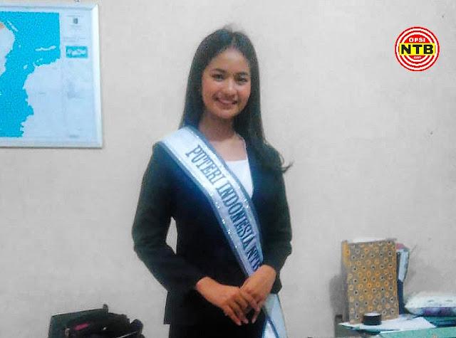 Gadis Cantik Asal Lotim Wakili NTB di Ajang Putri Indonesia 2020