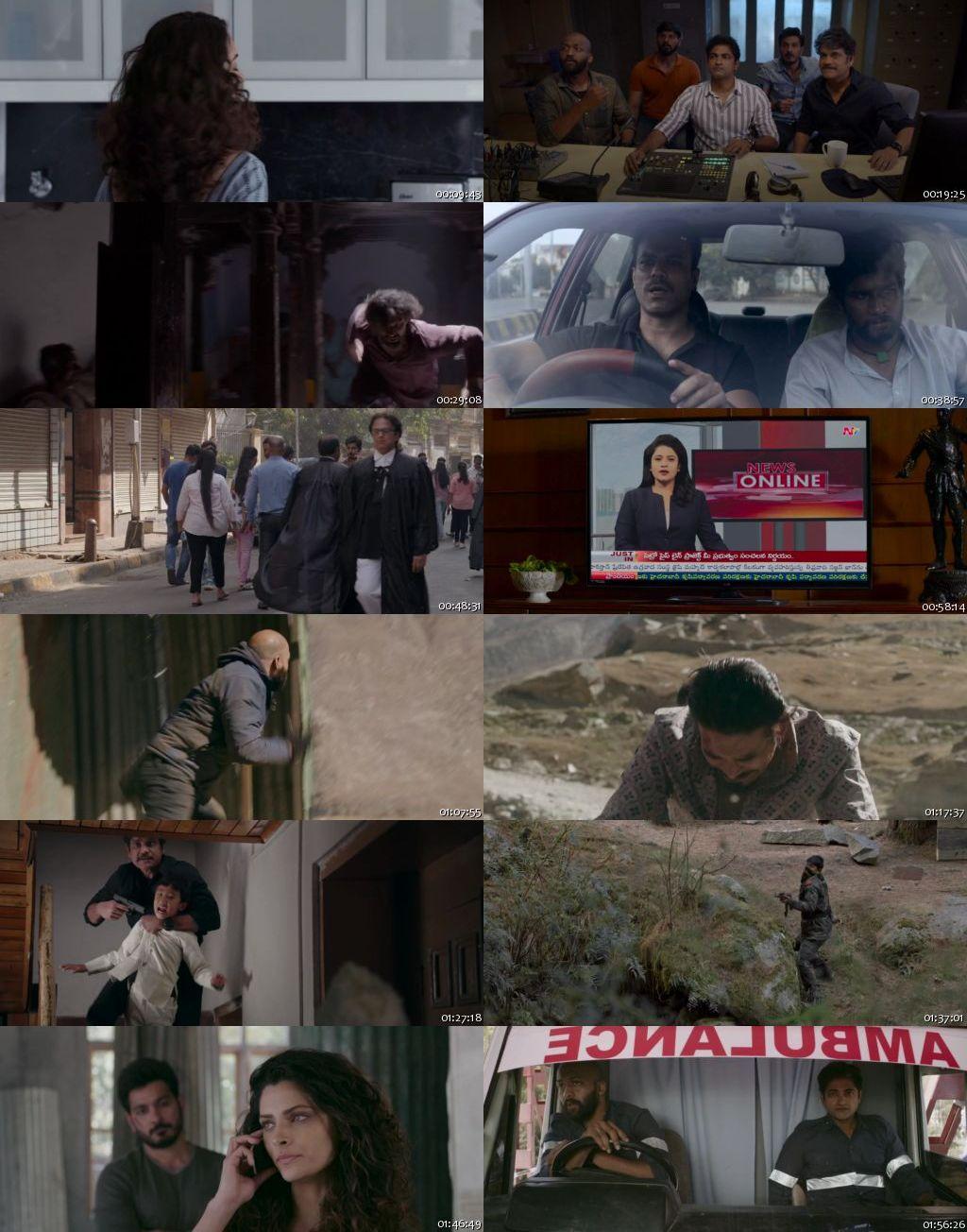 Wild Dog 2021 HDRip 720p Hindi Dubbed