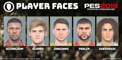 PES 2019 DLC Facepack for eFootball PES 2020