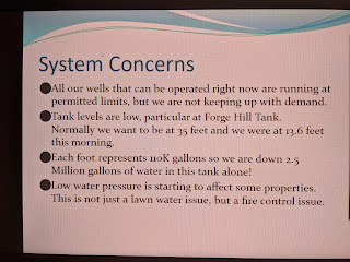 screen capture of TC meeting water update #6