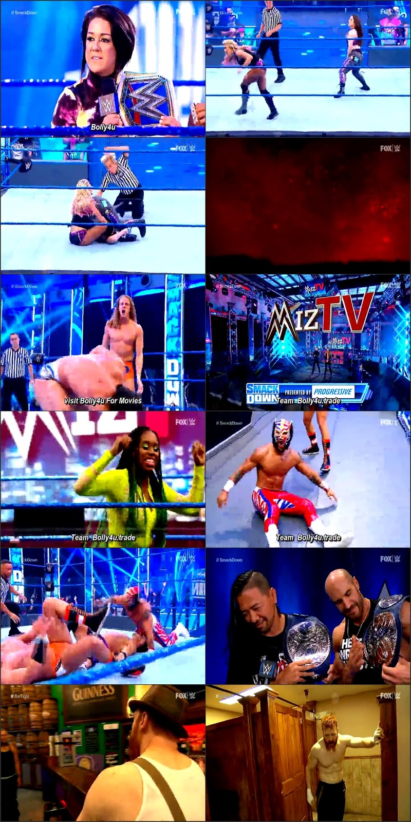 WWE Friday Night Smackdown HDTV 480p 300Mb 24 July 2020 Download