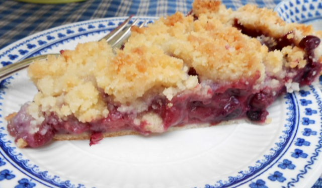 How about some pie and a cuppa tea in the garden today? I've saved you ...