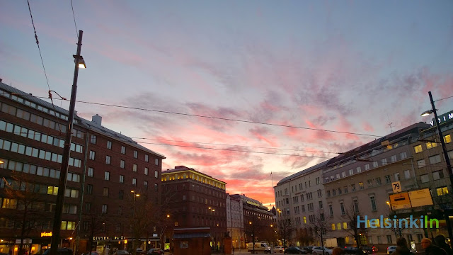 bright morning in Helsinki