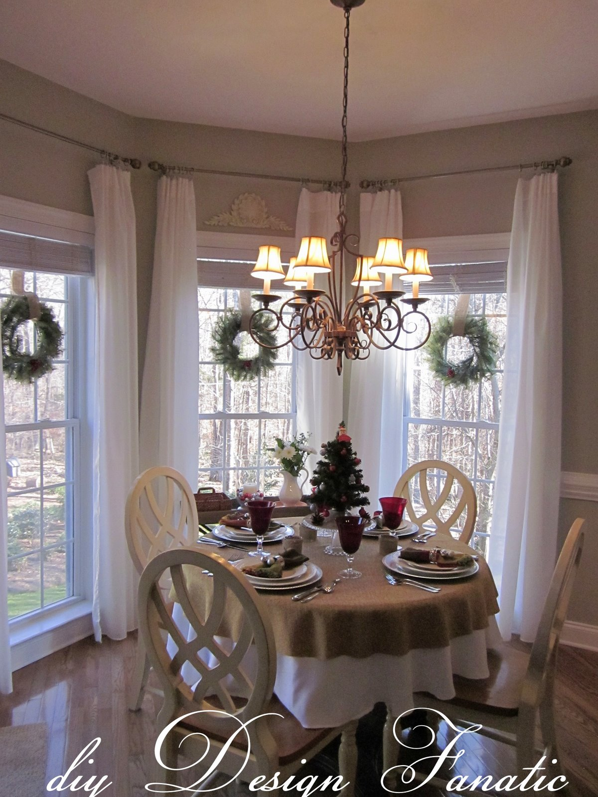 Pipe curtain rods, Galvanized pipe and Curtains on Pinterest on Farmhouse:-Cra1Rtrksu= Dining Room Curtains  id=67384