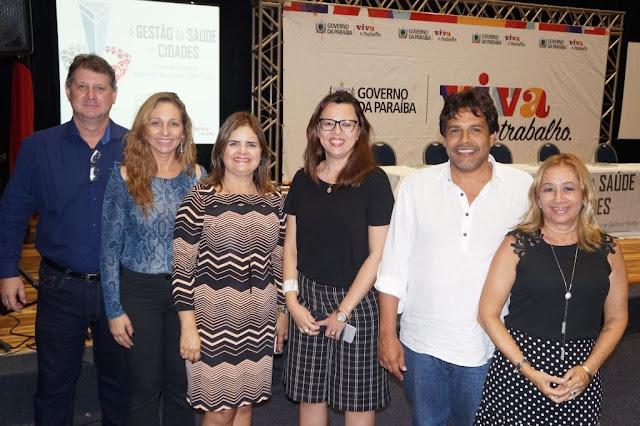 Municípios da 9ª Regional de Saúde Participam de evento acolhimento dos gestores do SUS em João Pessoa