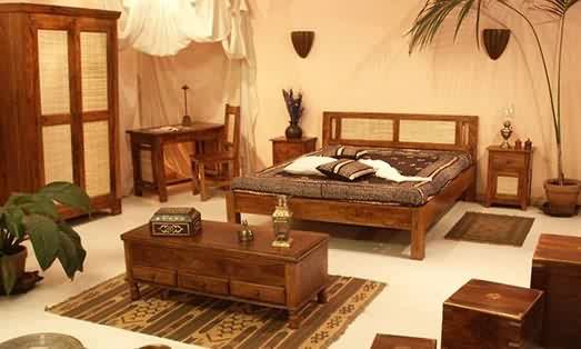 traditional-home furniture woods