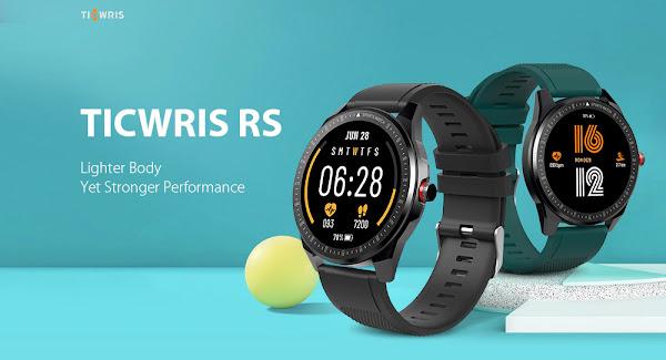 TICWRIS RS - Um smartwatch ultra fino
