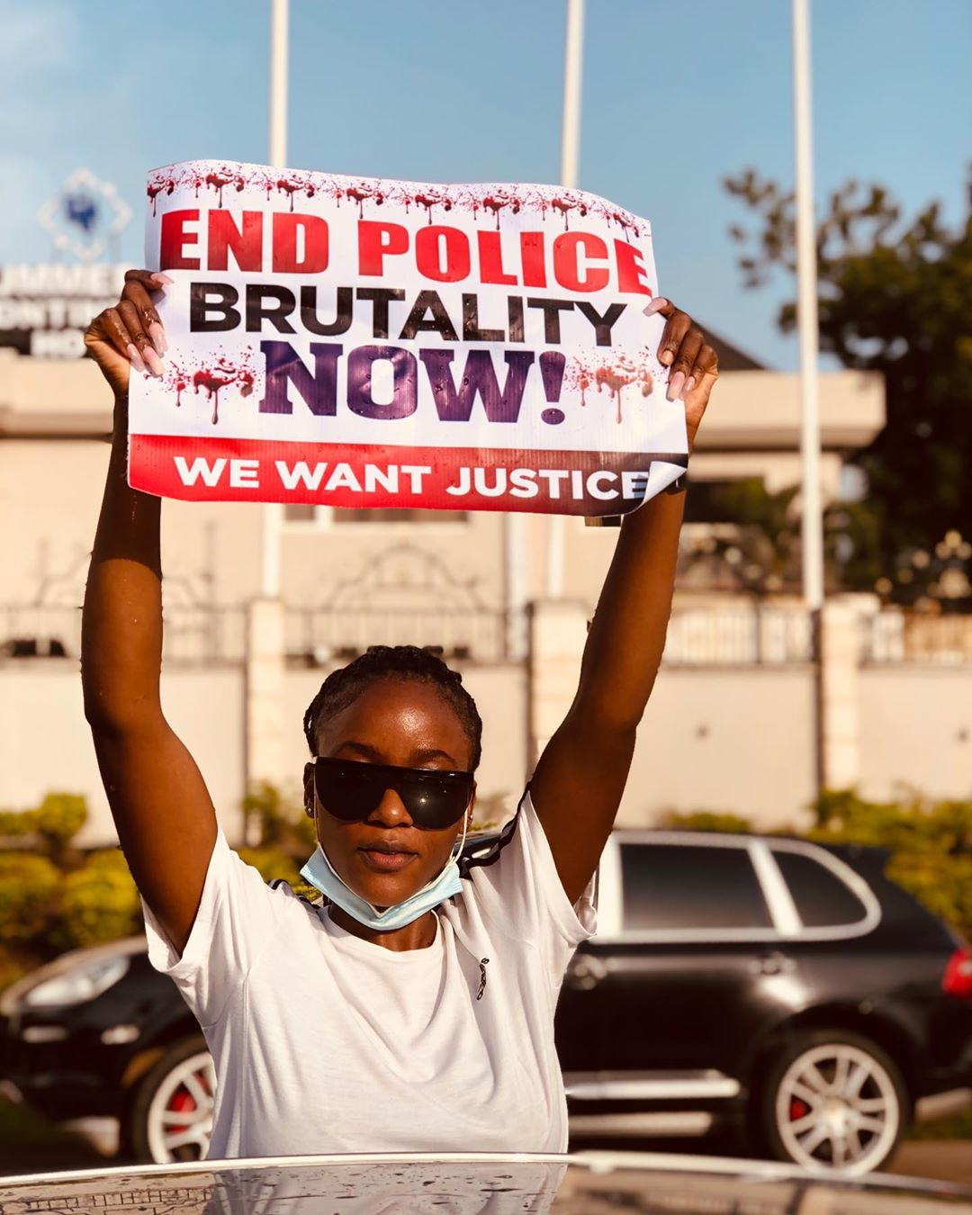 END SARS IN JOS