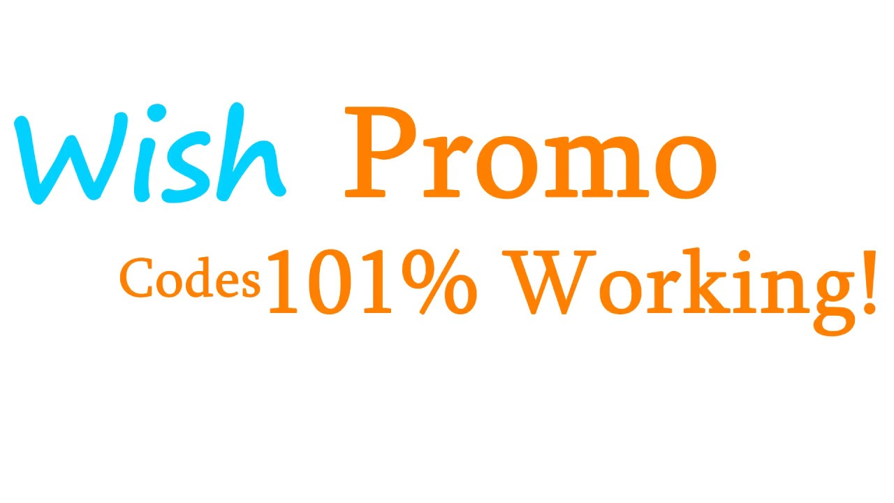 Wish Promo Codes & Free Shipping Codes - September 2019