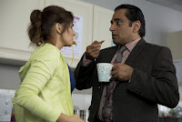Sanjeev Bhaskar and Emma Pierson in Absolutely Anything (11)