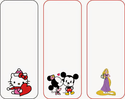 Valentine's Day Bookmarks - free printable