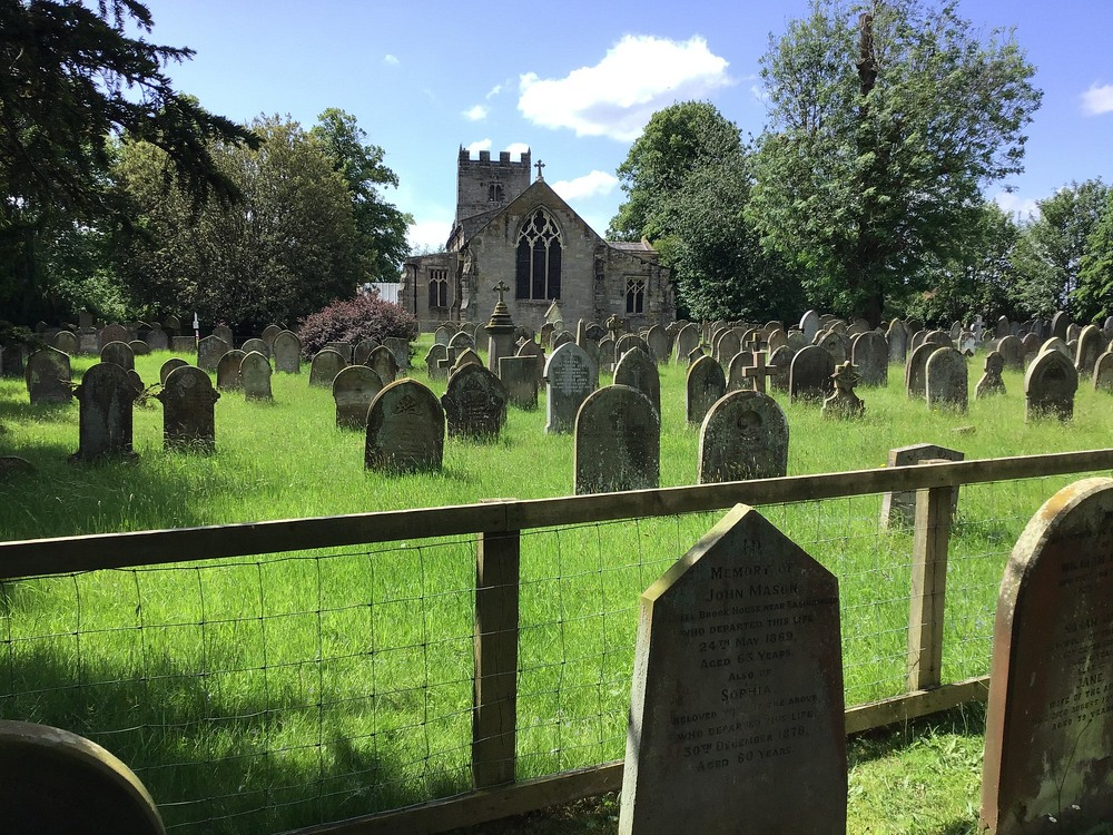 St John and All Saints Church in the town of Easingwold