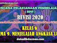 RPP KELAS 6 TEMA 9 SD/MI KURIKULUM 2013 REVISI 2020