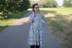 """Nähprojekt: Everyday-Dress  """"Athena"""""""