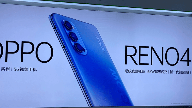 OPPO teases the Reno4 with 65W fast charging and 5G