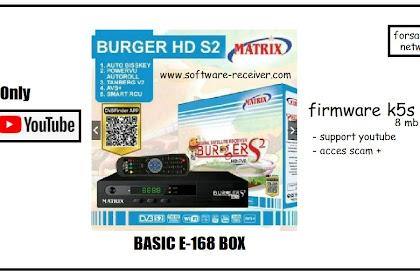 Software Matrix Burgers S2 PVR - 8 MB - Youtube OK