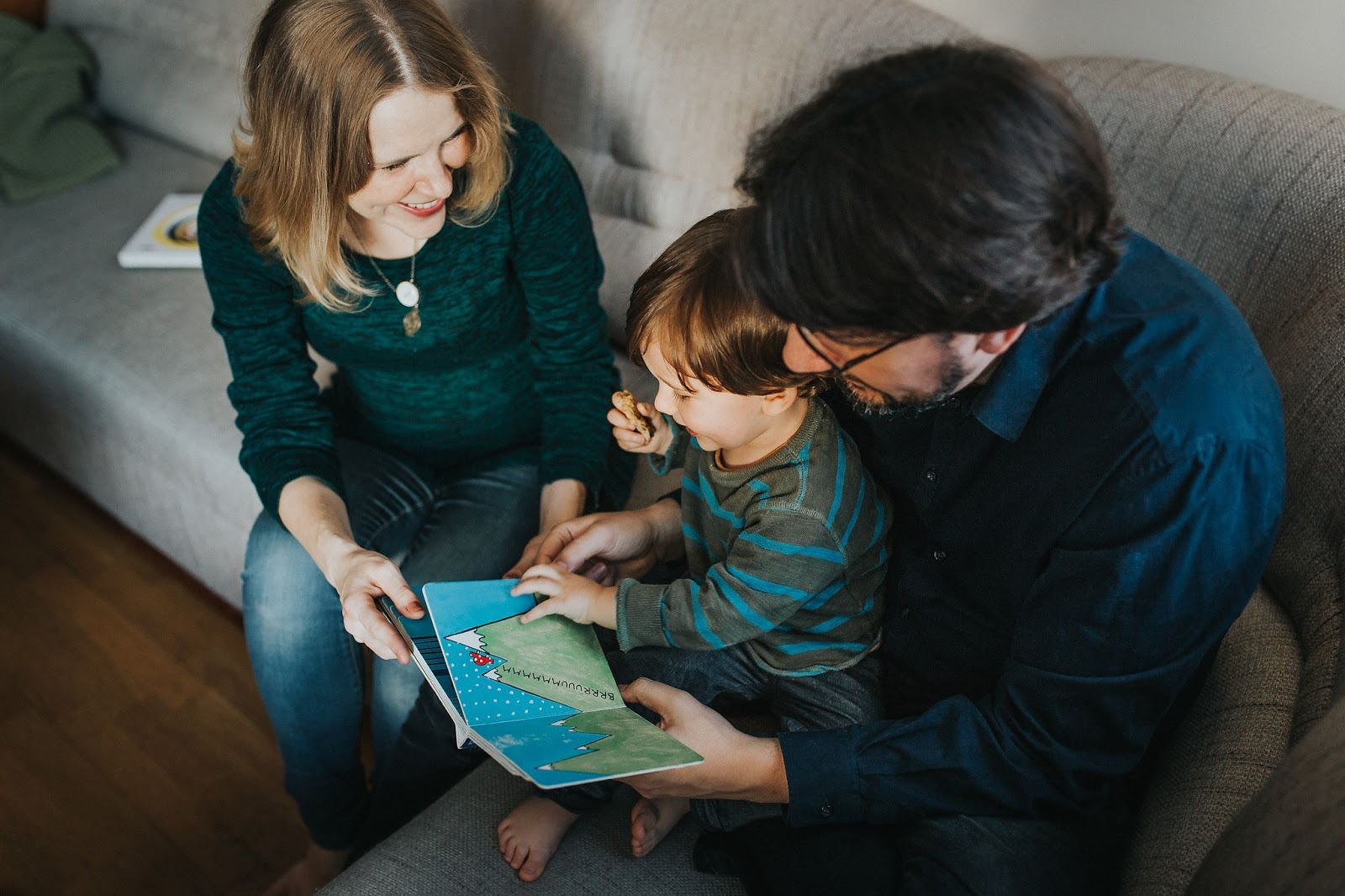 książki niemowlę dzieci czytanie