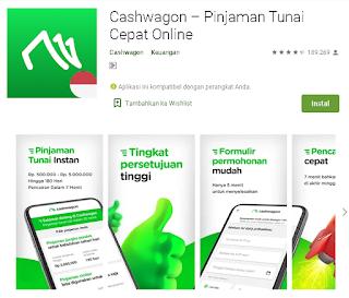 Cara menggunakan Aplikasi Cashwagon – Pinjaman Tunai Cepat Online