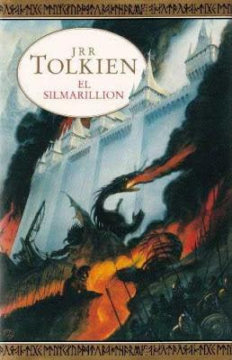 """Portada de """"El Silmarillion"""""""