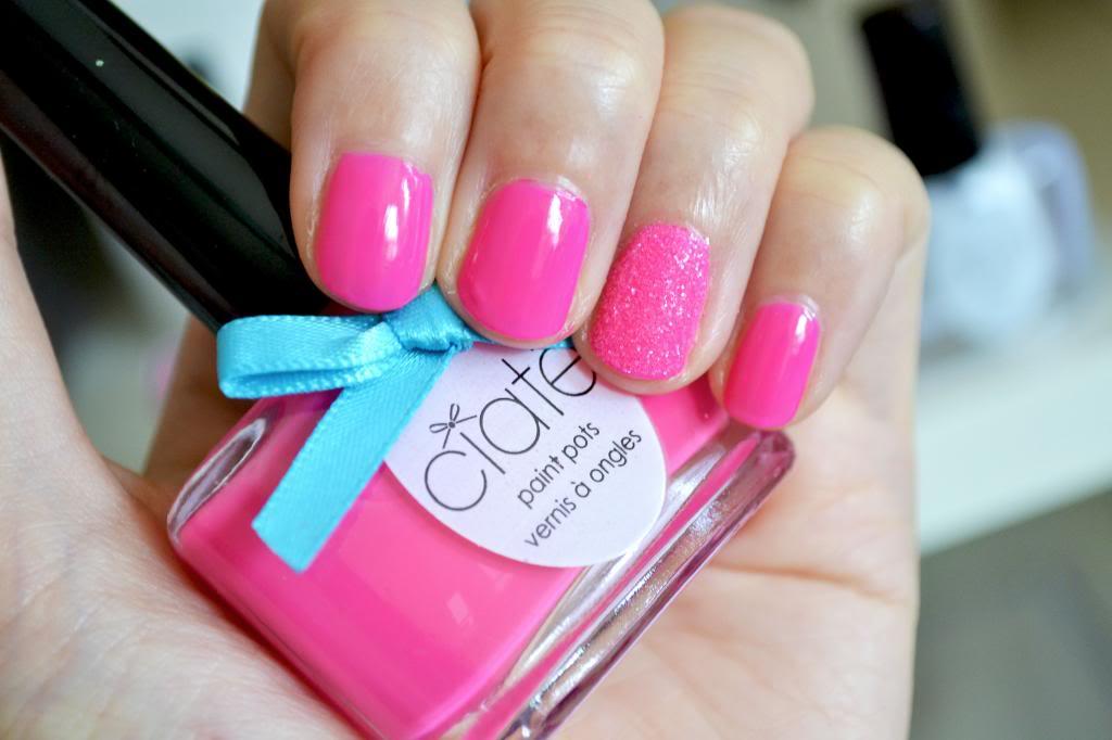 ciate corrupted neon pink, Ciaté Corrupted Neon Manicure Set