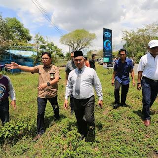 Peninjauan Lapangan Persiapan Beroperasinya Pusat Wisata Belanja Kuliner - Tarakan.Info