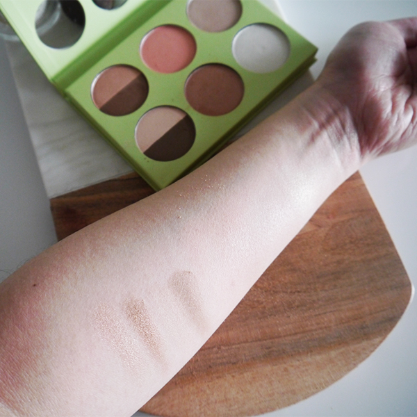 Pixi Book of Beauty Minimal Makeup Palette swatches