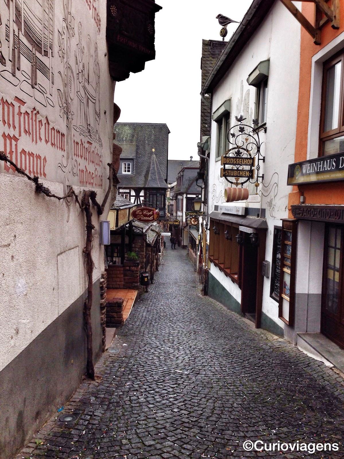 Rota Romântica do Vale do Reno: Rüdesheim am Rhein