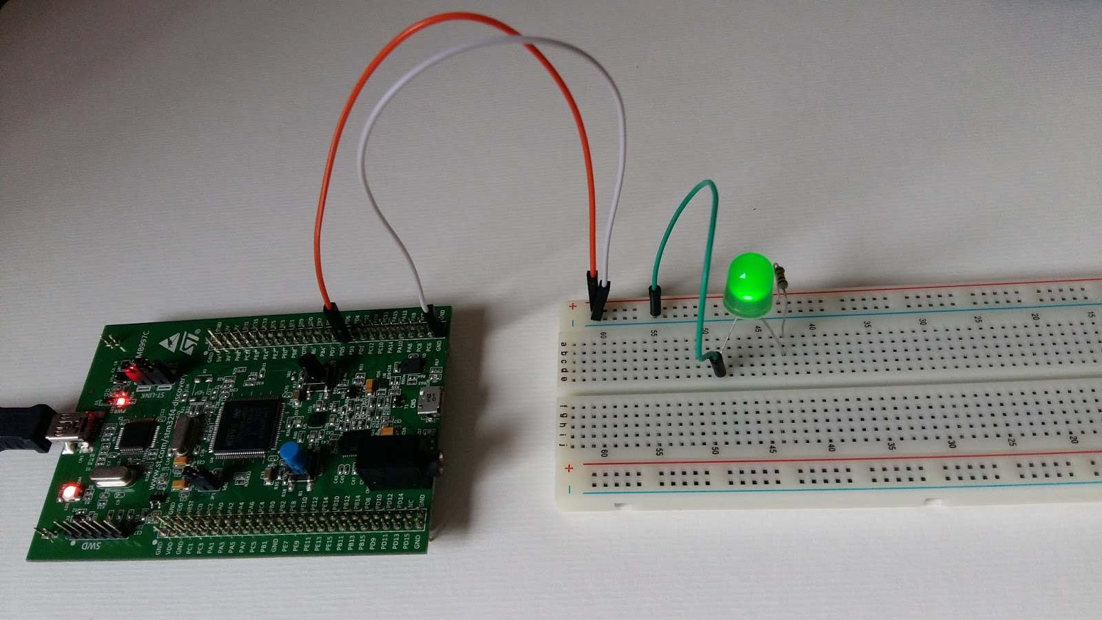 My Tech World: Controlling the external LED with the STM32F4