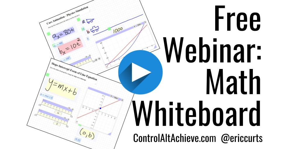 Free Webinar - Math Whiteboard