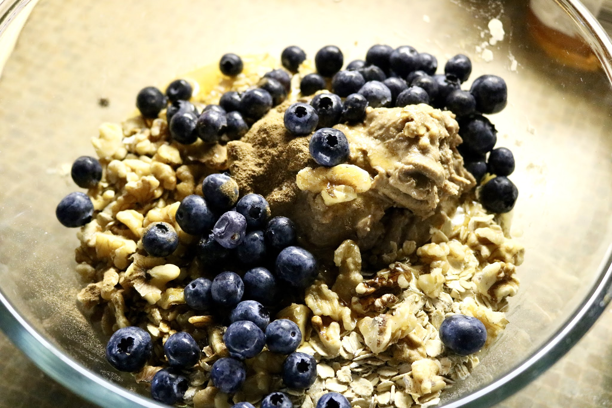 Blueberry Energy Cookie mix