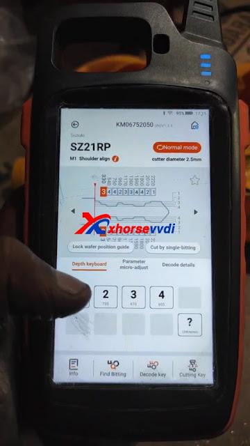 Suzuki Swift all key lost using Xhorse VVDI Key Tool Max + Dolphin XP005 06