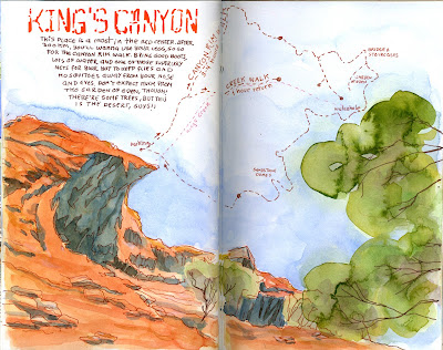 King's Canyon (Red Center, Australia)
