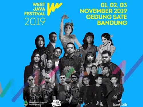 Jadwal Acara West Java Festival 2019