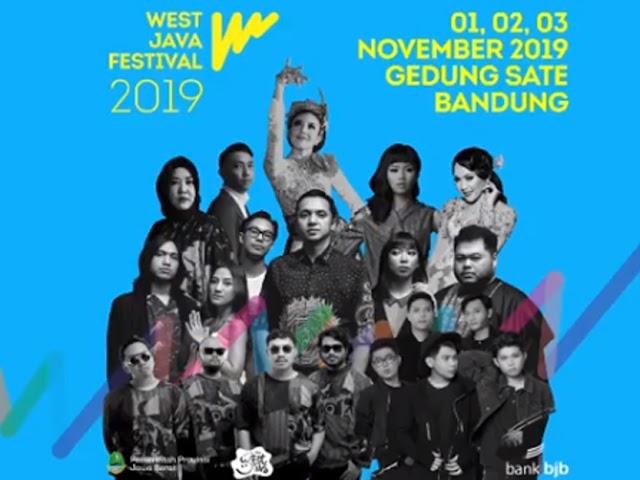 Rangkaian Acara West Java Festival di Gedung Sate 1 - 3 November 2019