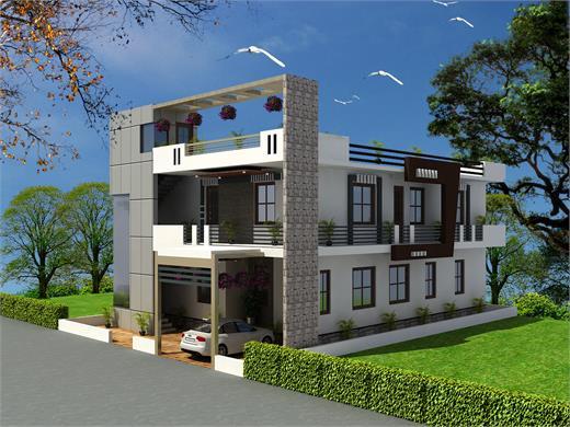 Manchar Pune Independent Floor Design