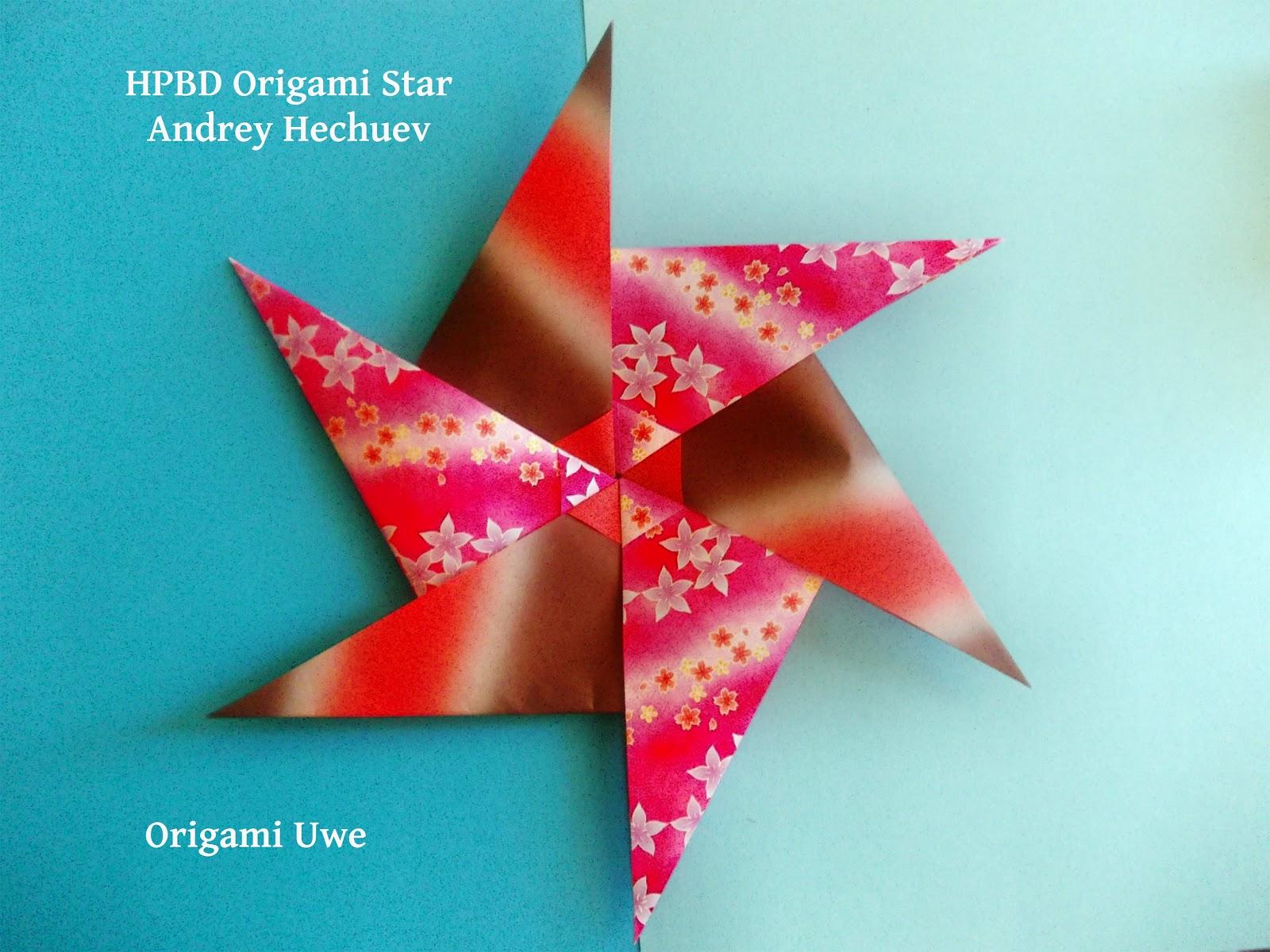 Origami, Fleurogami und Sterne: HPBD ( Happy Birthday ... - photo#19