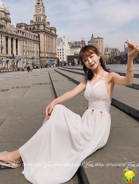Shop ban vay maxi di bien gia re tai Thanh Tri