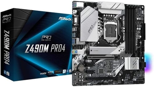 Review ASRock Z490M PRO4 Motherboard