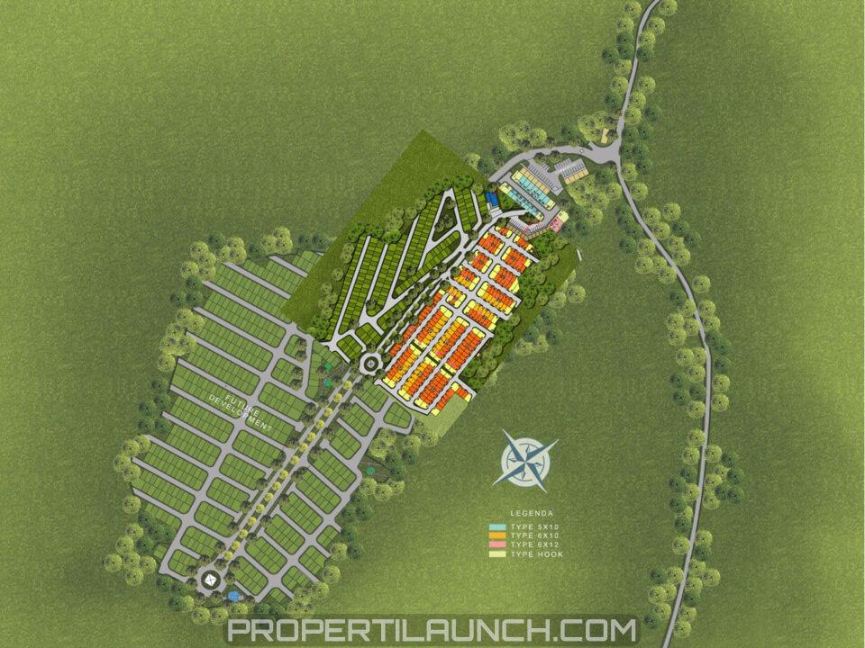 Master Plan Parkville Serpong
