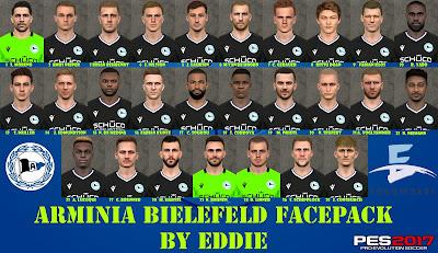 PES 2017 Arminia Bielefeld Facepack Season 2020-2021