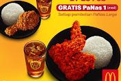 McDonalds Promo Gratis PaNas 1 Medium Hanya 21-23 Februari 2020
